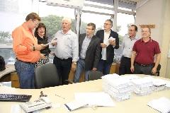 Lideranças do município de Ibirubá acompanharam de perto o último passo antes da contratação do serviço